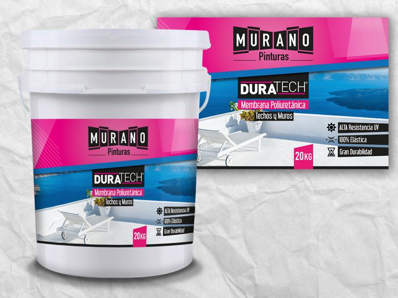 Etiqueta de Membrana Poliuretánica para Murano,